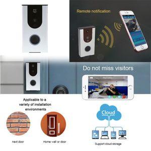 TÉLÉCOMMANDE DOMOTIQUE  Smart wifi vidéo sonnette Nuit Vision Mobile à dis