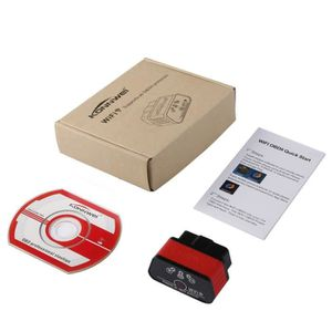 OUTIL DE DIAGNOSTIC KONNWEI KW903 Wireless WIFI ELM327 OBD-II Mini Car