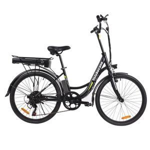 VELOBECANE Vélo électrique City - Noir