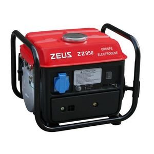 GROUPE ÉLECTROGÈNE ZEUS Groupe électrogène 720W à moteur essence 2 te