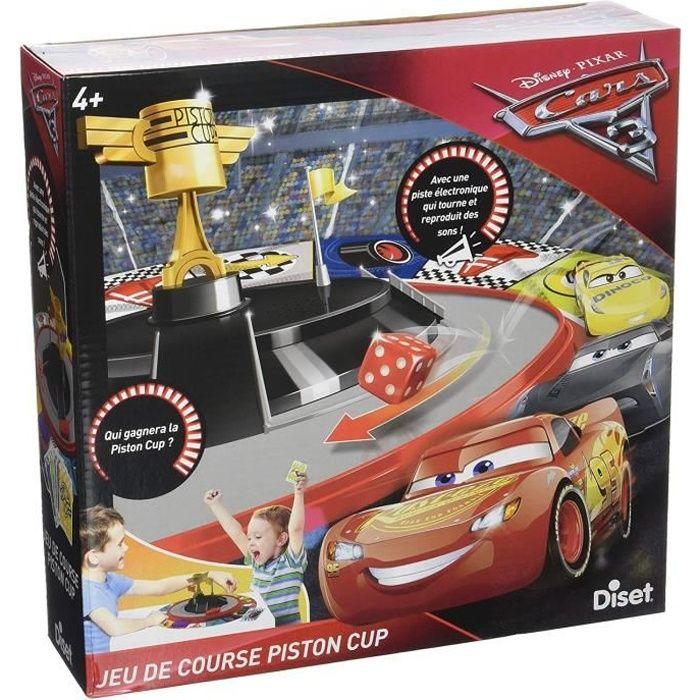 DISET - Jeu de course Piston Cup CARS 3