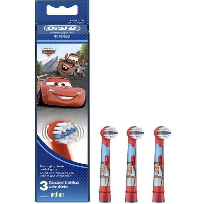 Oral-B Stages Power 3 brossettes de rechange avec personnages Disney