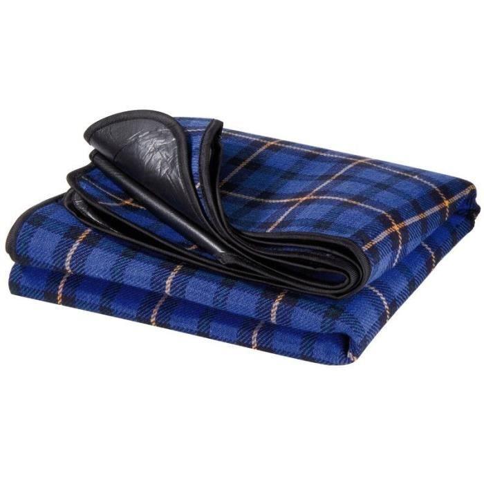 plaid impermeable 130x150 pour voiture pique nique achat vente couverture plaid cdiscount. Black Bedroom Furniture Sets. Home Design Ideas