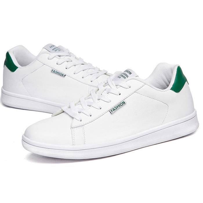 Chaussures d'hommes BASKET HOMME Chaussures homme mode noir blanc SHwyF