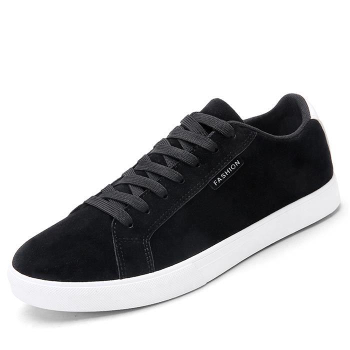 Sneaker de loisirs homme personnalité mode chaussures plates Haut qualité anti-glissement chaussure hommes Confortable Plus