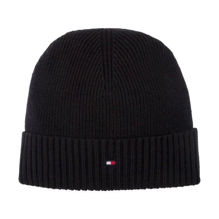 13ba252c2df Bonnet Tommy Hilfiger Accessoires NOIR - Achat   Vente bonnet ...