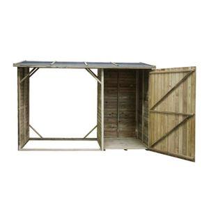 abris bois de chauffage achat vente abris bois de chauffage pas cher cdiscount. Black Bedroom Furniture Sets. Home Design Ideas