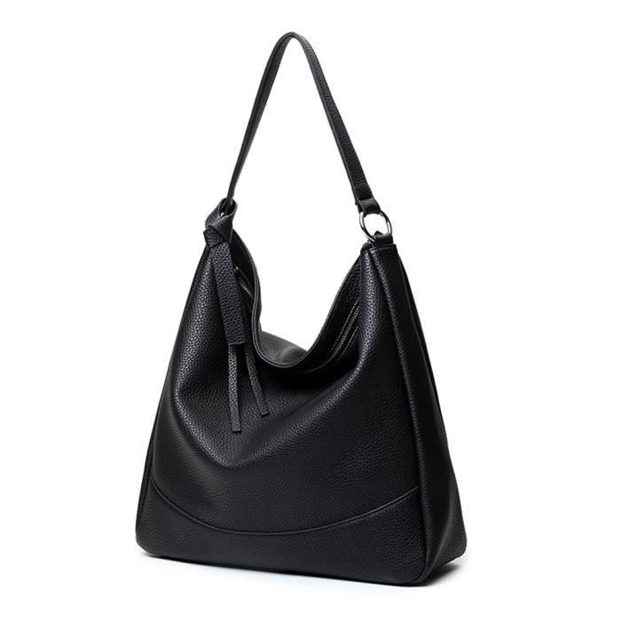 Mode sac fourre-tout Pu Sac bandoulière en cuir Double Côté décoration pour dames NQ4YE