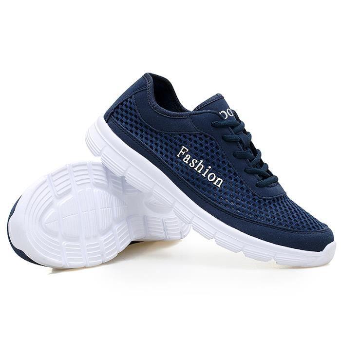 Homme De Luxe Qualité de Nouvelle Basket 2018 Meilleure arrivee Chaussures Baskets Plus sport Taille Homme Marque Confortable REqExHz