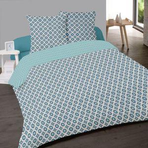 housse de couette 220x240 geometrique achat vente housse de couette 220x240 geometrique pas. Black Bedroom Furniture Sets. Home Design Ideas