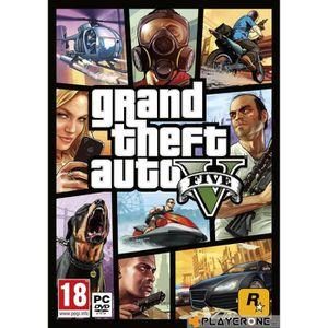 JEU PC GTA V : PC DVD ROM , FR