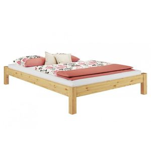 STRUCTURE DE LIT 60.35-14M Lit futon pin massif naturel, design mod