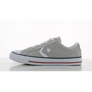 Chaussures à lacets Converse Star Player blanches Casual unisexe WCGxB