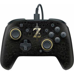 MANETTE JEUX VIDÉO PDP Manette filaire Zelda noir compatible Xone