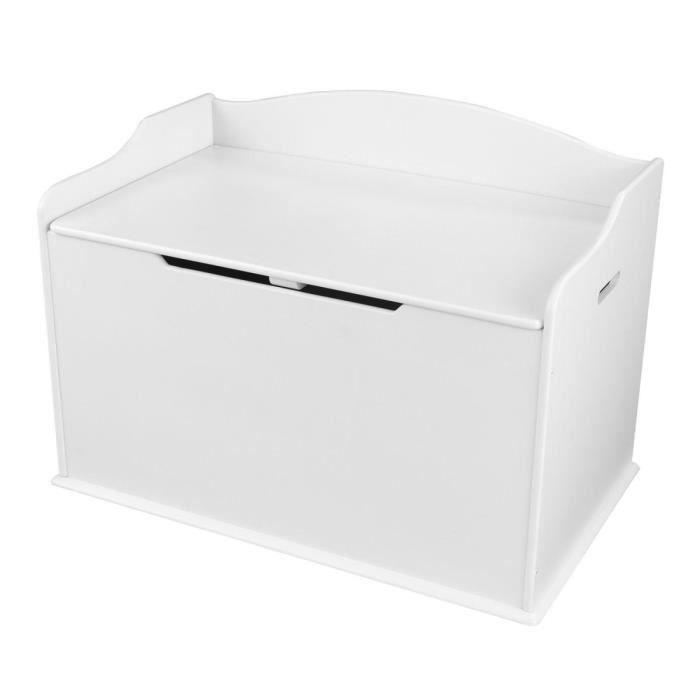 KIDKRAFT - Coffre à jouets en bois Austin - blanc