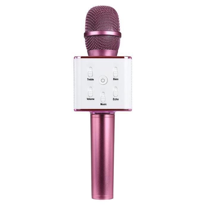Q7 Sans Fil Bluetooth Portable Ktv Karaoke Microphone Mic Haut-parleur Pour Téléphone Zzp61118821hot_1909