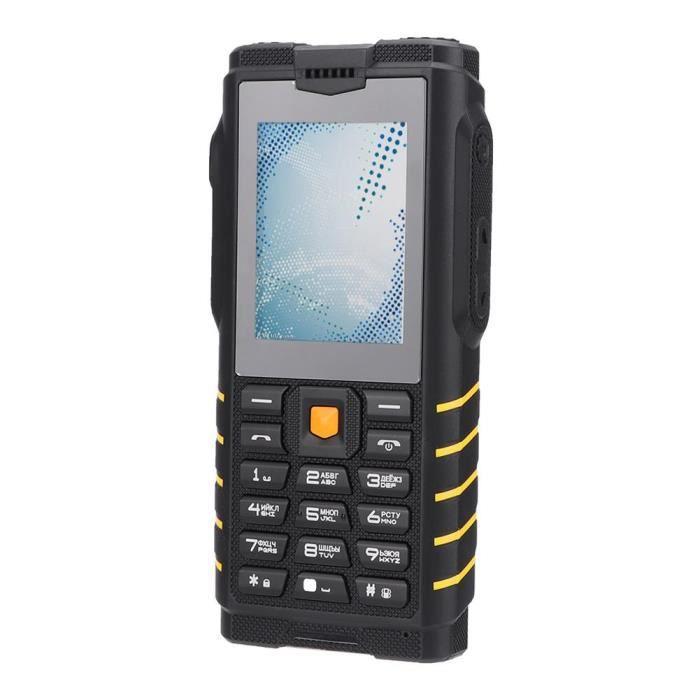 Téléphone portable LANQI Deux voies de téléphone portable portatif UH