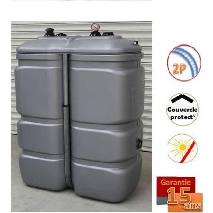 cuve a fioul 2000 litres double paroi l integrale schutz bac