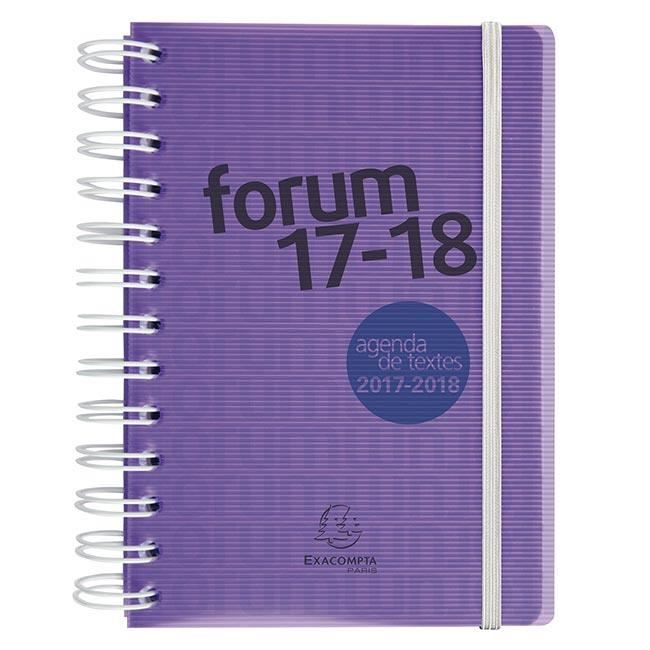 Carte Cdiscount Forum 2018.Agenda 1 Jour Page Exacompta Forum Linicolor Fresh 12x17 Cm 2017