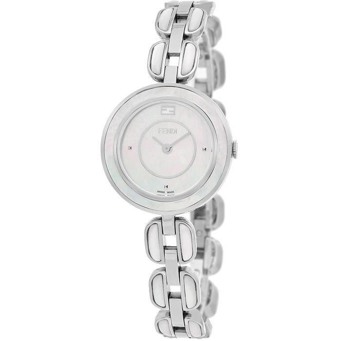 Fendi My Way Femme 28mm Bracelet Acier Inoxydable Quartz Montre ... afc898e560b
