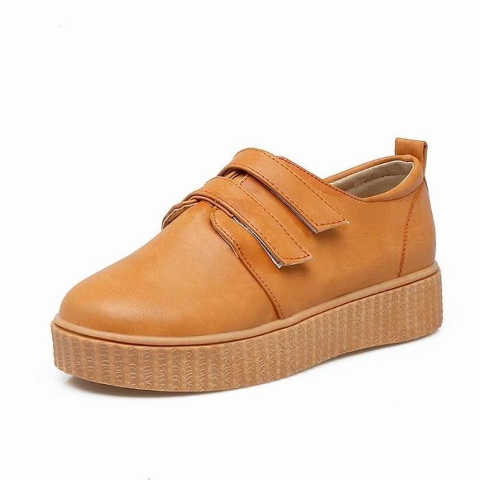 Chaussures Plates Solides semelles épaisses stables et confortables pour la famille en plein air