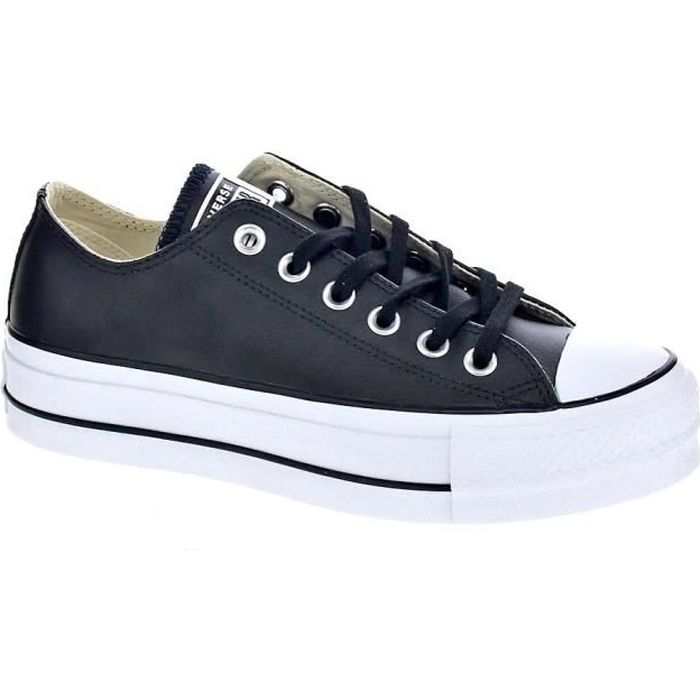 0f6b3f85467 Baskets basses - Converse Chuck Taylor All Star Lift Clean Femme ...