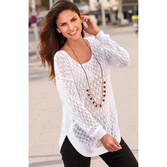 65f12a072165 Pull maille ajoure - Achat   Vente pas cher