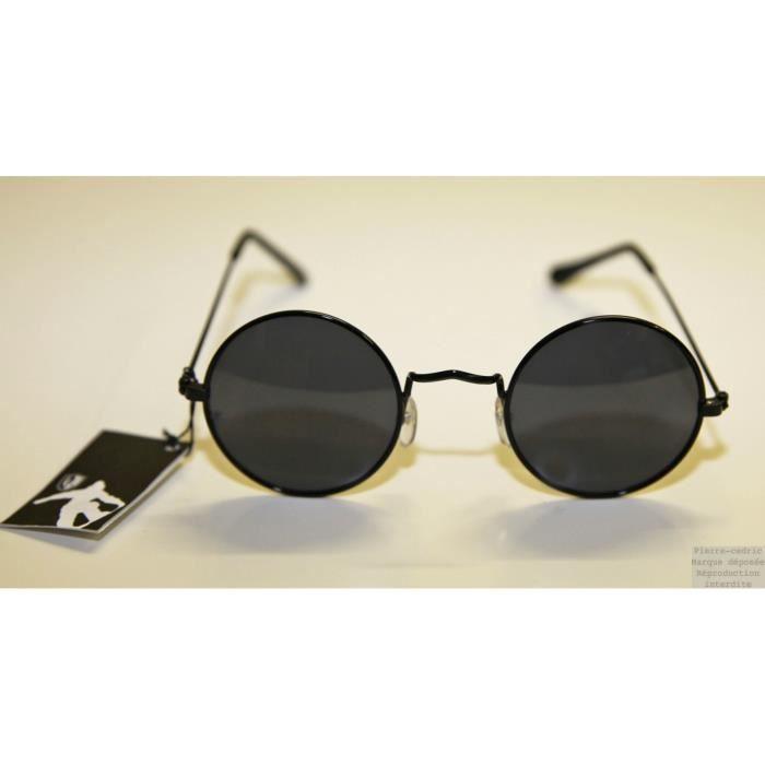ae14161f419f2b Lunette de Soleil Mixte Ronde Hippy John Lennon ! - Achat   Vente ...