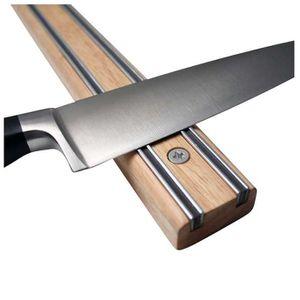Porte couteau aimante achat vente porte couteau for Support magnetique pour couteaux cuisine