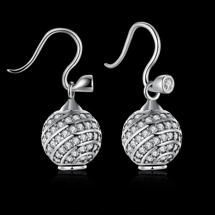 PDRSVE003 2018 oreille populaire mode pince en argent plaqué LEKANI bricolage JYPDRSVE003-A
