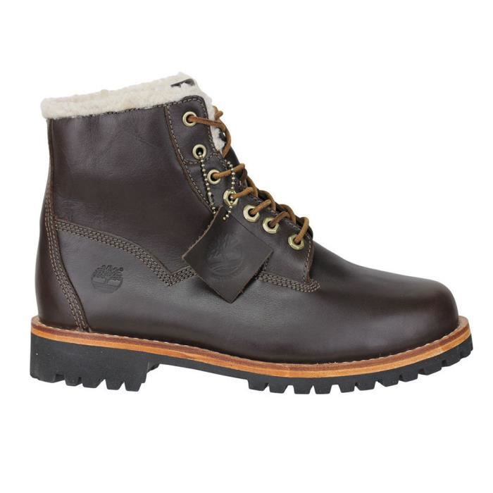 TIMBERLAND Ek Heritage Lined Chaussure Homme - Taille 44 - MARRON