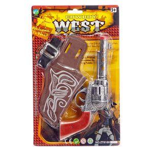 81cf66beb3e6 PISTOLET BILLE MOUSSE Set de Cowboy Pistolet + etui + sangle - Far West