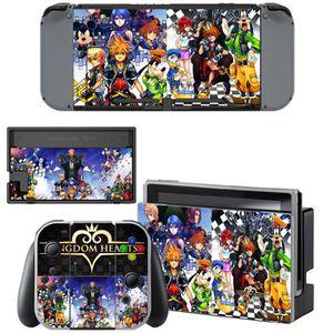 STICKER - SKIN CONSOLE Kingdom Hearts The Story So far Autocollants de Sk
