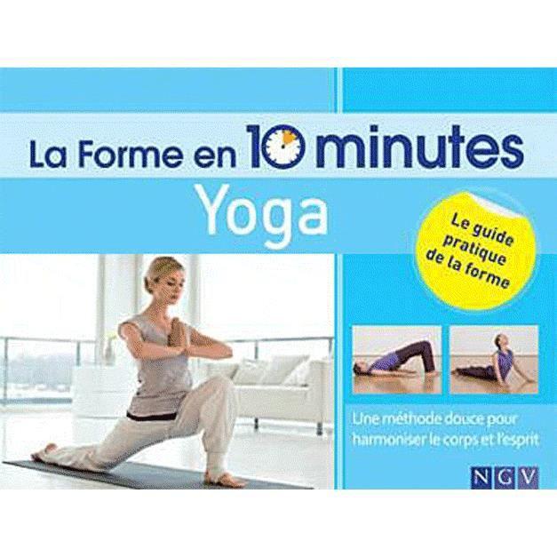 LIVRE SANTÉ FORME Yoga
