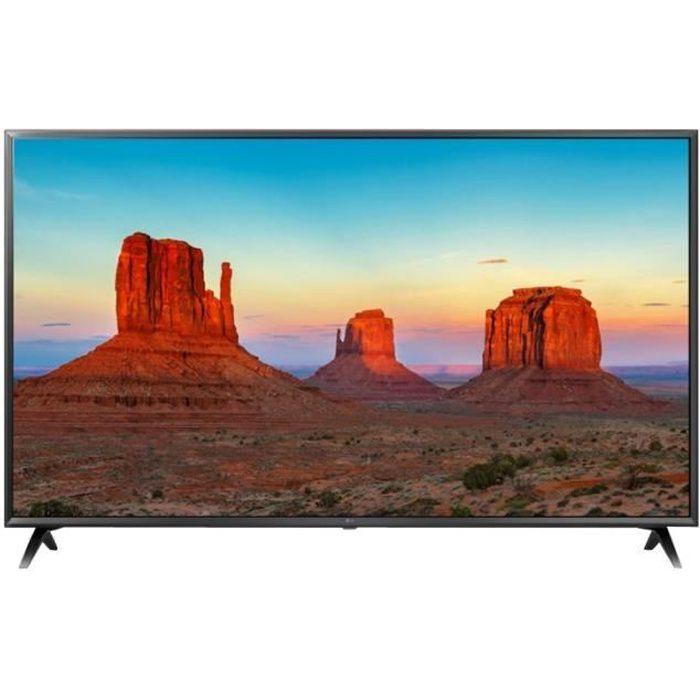LG 55UK6300PLB TV LED 55'' (139cm) 4K UHD HDR - Smart TV WebOS - 3 X HDMI - Classe énergétique A+