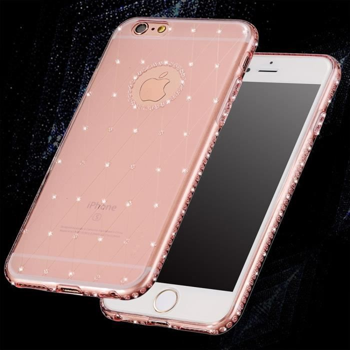 coque strass iphone 6 plus