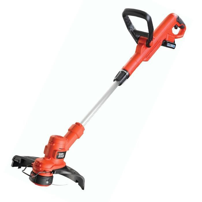 Black decker stc1815 coupe bordures 28cm 18v achat vente coupe bordure cdiscount - Coupe bordure black decker sans fil lithium ...