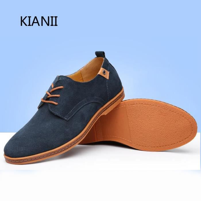 Kianii Derby Chaussures Homme Souliers simples ... qWM7j