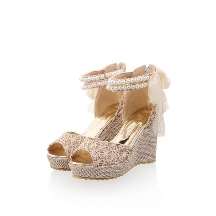 Des sandalesEspadrille Les Chaussures pour Fe...