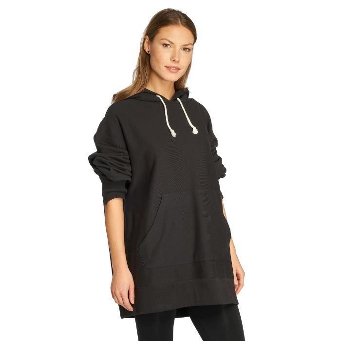 Champion Femme Hauts   Sweat capuche Oversize Noir Noir - Achat ... 015931882ac8