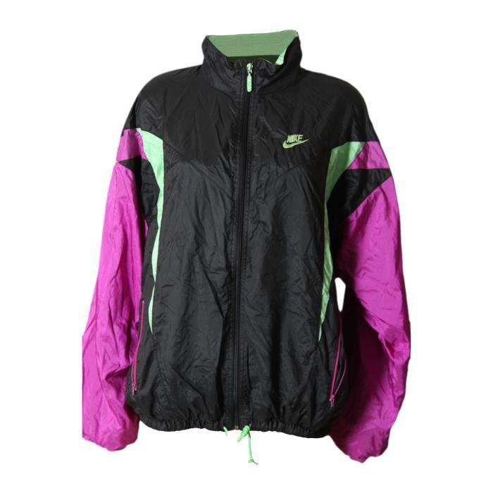 Jogging L Marron Nike Coupe Vent Foncé Veste Vintage Impermeable hdtQxsCr