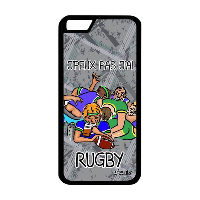 coque silicone iphone 6 rugby