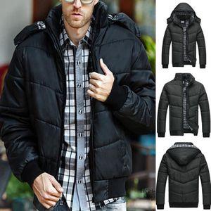 ... MANTEAU - CABAN Veste noire Puffer Réchauffez Pardessus Outwear re ... 1d014f60fb0