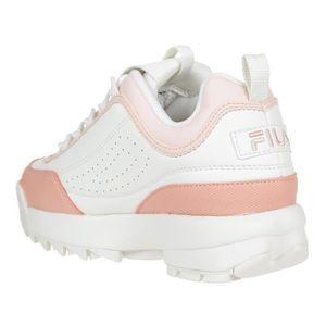 eb3d2c75a7b ... BASKET FILA Baskets Disruptor - Femme - Beige et rose ...