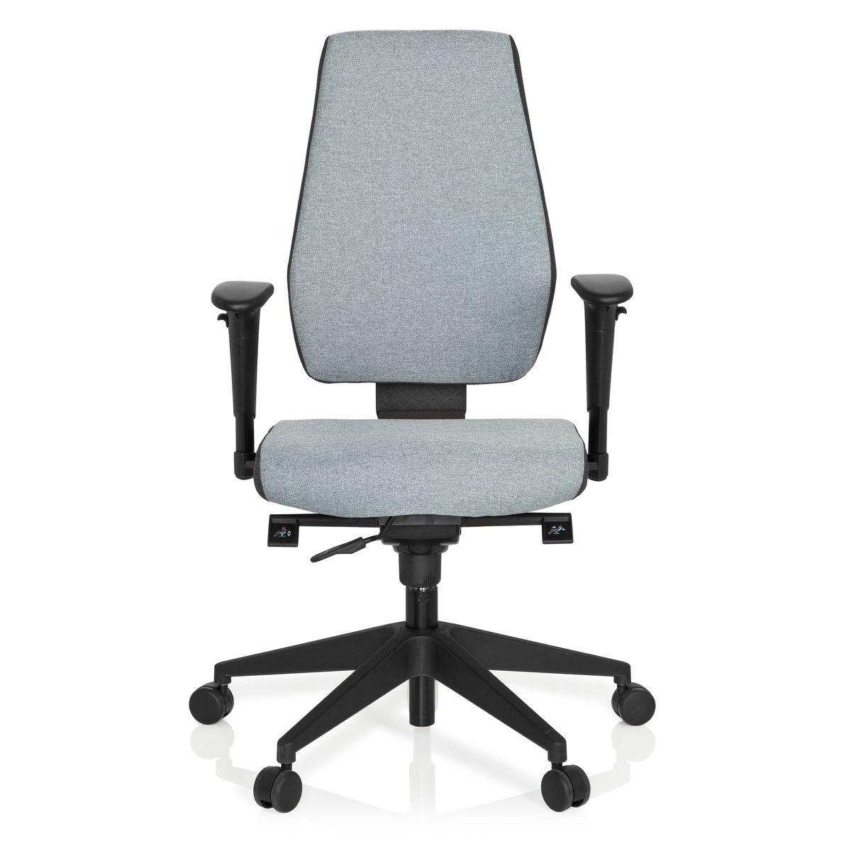 clair tissu bureau 500 de pivotante TEC Chaise maille PRO gris foncégris hjh Chaise OFFICE à 5A3Rj4L