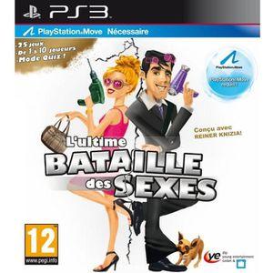 JEU PS3 L'ULTIME BATAILLE DES SEXES / Jeu console PS MOVE