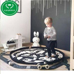 HOUSSE DE RANGEMENT Creative Enfants Jouet Sac De Rangement Et Tapis J