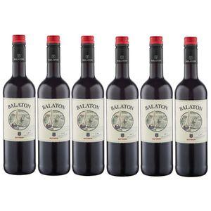 VIN ROUGE Balaton Hongrie Vin Rouge Alc 12% vol. 6 x 0,75l
