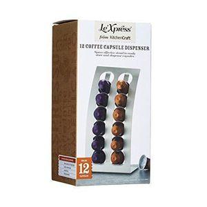 DISTRIBUTEUR CAPSULES Le`Xpress-Distributeur à Capsules Nespresso Inox