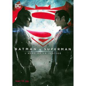 DVD FILM DVD BATMAN V SUPERMAN - L'AUBE DE LA JUSTICE